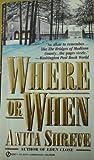 Where or When, Anita Shreve, 0451404785