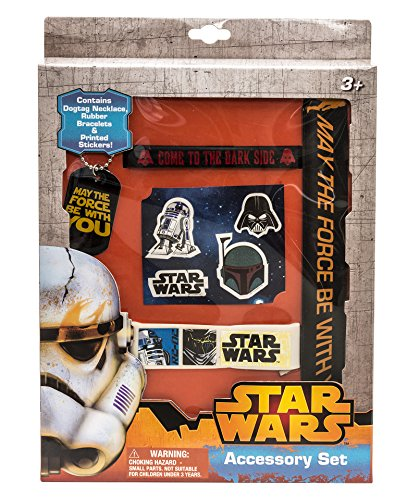 Star Wars Accessory Set with Stickers, Slap Bracelet and More ()