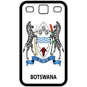 Botswana - Country Coat Of Arms Flag Emblem Black Samsung Galaxy S3 i9300 Cell Phone Case - Cover