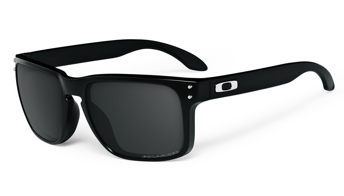 Oakley Holbrook negro pulido gafas de sol con lentes ...