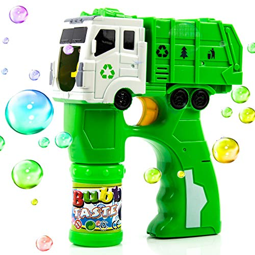 Toysery Truck Bubble Shooter Gun Toy | Premium Material | Easy to Use | Ultimate Fun for Kids | Boost Hand to Eye Coordination of Your Child | Best Gift for Kids]()