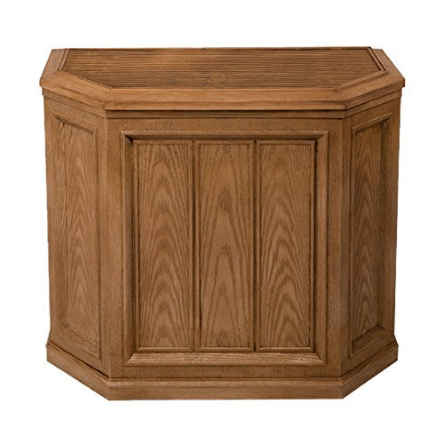 Essick Air AIRCARE 696 400HB Digital Whole-House Console-Style Evaporative Humidifier, Light Oak