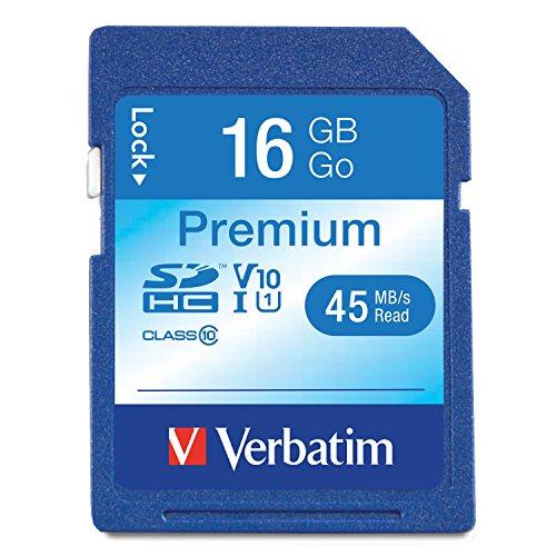 Verbatim+96808+16+Gb+Secure+Digital+High+Capacity+(Sdhc)+.+Class+10+.+1+Card/1+Pack+Product+Type:+Memory/Memory+Cards