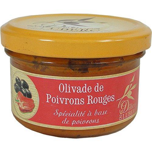 Delices du Luberon Red Pepper Spread Olivade de Poivrons Rouges (Rouge Poivron)