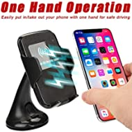 DICPOLIA 2018 New Car Mount Wireless Charger Vehicle Dock Charging Stand Dock for iPhone Xs/XS...