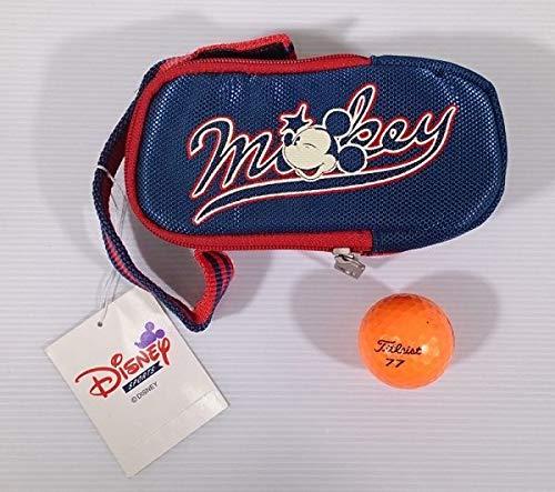 ブリヂストン Disneyディズニー ゴルフポーチ 小物ボール入れ     ID80718N1432