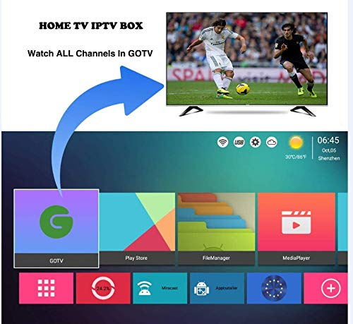 2019 International IPTV Box Receiver Player With 10 Year