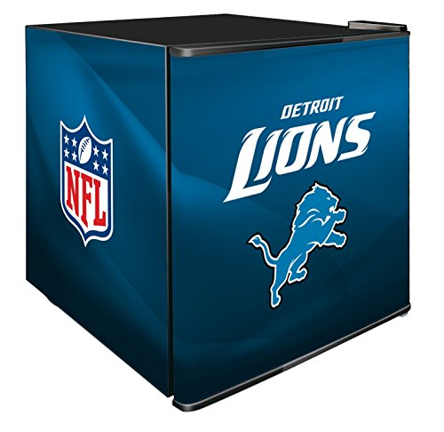 NFL Detroit Lions Refrigerated Counter Top Cooler, Small, Blue by SG Merchandising Solution