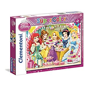 Clementoni 26911 Puzzle Maxi Princess Royal Tea Party 60 Pezzi