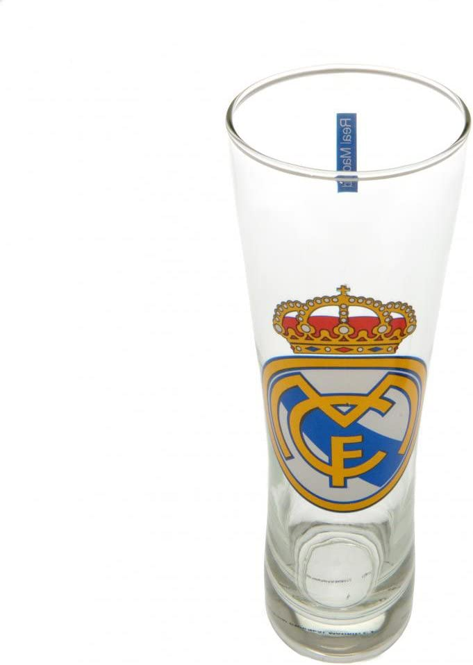 Real Madrid CF cerveza Peroni Pint Glass cerveza cristal fútbol ...
