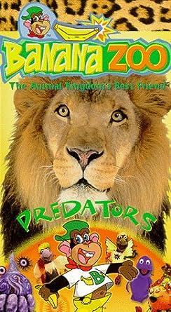 Amazon Com Banana Zoo Predators Vhs Banana Zoo Movies Tv