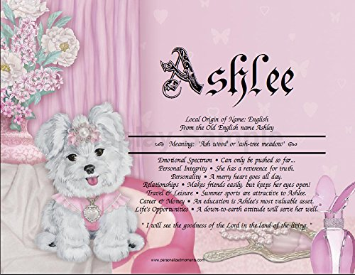 Amazon princess pup personalized any first name meaning princess pup personalized any first name meaning keepsake print 85quot x 11quot negle Gallery