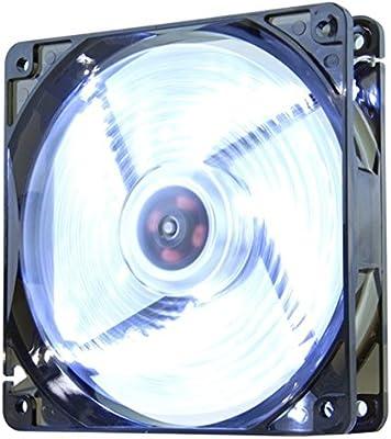 Nox Coolfan 120 NXCFAN120LG Ventilador para Caja PC, 12