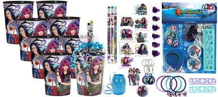 Image Unavailable Not Available For Color Descendants 2 Goodie Favor Kit 8 Guests Birthday Party Supplies
