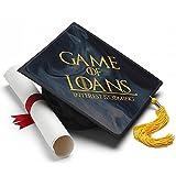 Game of Loans Graduation Cap Tassel Topper - Decorated Grad Caps - Decorating Kits
