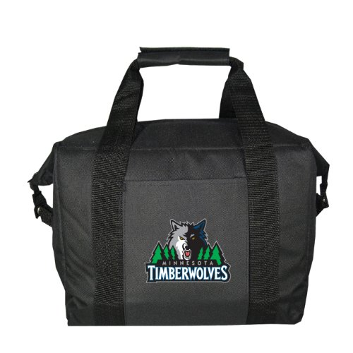 NBA Minnesota Timberwolves Soft Sided 12-Pack Cooler Bag by Kolder