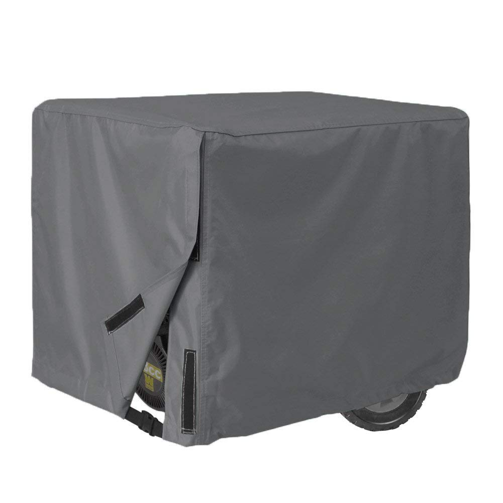 AKEfit Generator Cover-100% Waterproof Durable Universal-Heavy Duty Resistant Storage Cover,Fits Generators up to 28x38x30 inch,Gray 3 Years Warranty