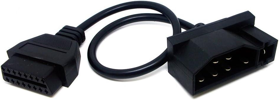 Diagnose Adapter OBD1 MAN 37Pin auf OBD2 Standard 16Pin Plug /& Play 30cm
