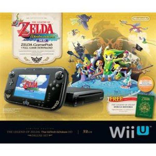 NINTENDO WUPSKAFL / The Legend of Zelda: The Wind Waker HD Deluxe Set WiiU Limited (Zelda Edition Wii U)