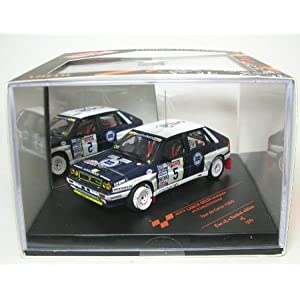 Miniature Lancia Delta Intégrale Saby 1989