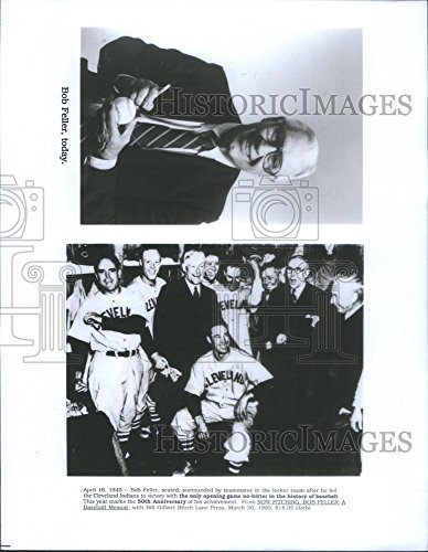 1990 Press Photo Cleveland Indians Pitcher Bob Feller - RSC29083 Cleveland Indians Pitcher