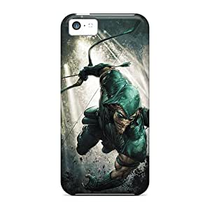 Durable Green Arrow I4 Back Cases/covers For Iphone 5c