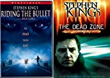 Stephen King The Dead Zone & Riding The Bullet DVD Horror Movie Collection