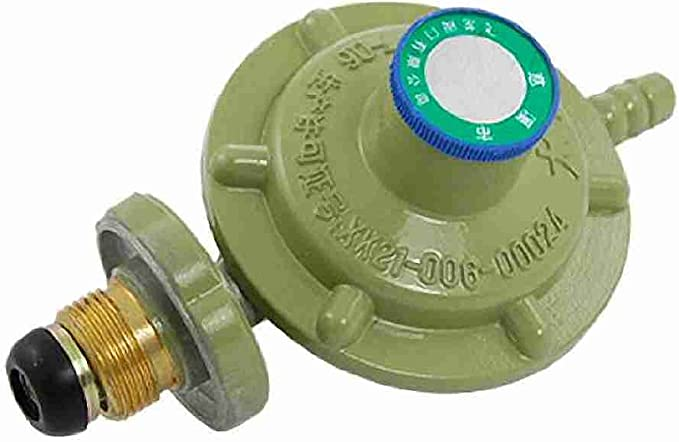 Presión de gas de rosca de en regulador de presión colour ...