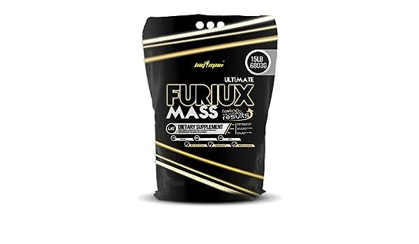 BigMan Ultimate Furiux Mass 6.8 Kg - 15lbs Canela: Amazon.es: Salud y cuidado personal