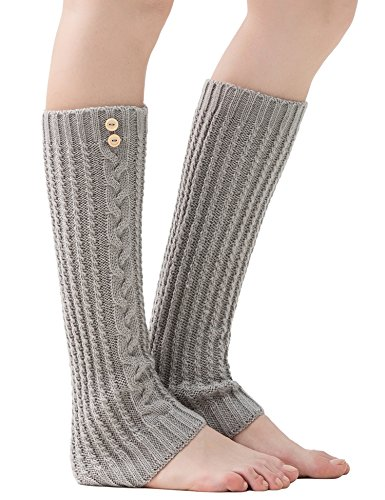 Dimore Womens warmers Cuffsocks knitted