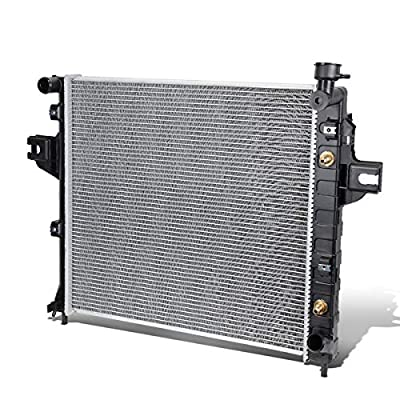 Replacement for 99-00 Jeep Grand Cherokee 4.7 AT OE Style Full Aluminum Core Radiator DPI 2263: Automotive