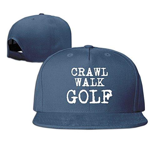 Runy Custom Crawl Walk Golf Adjustable Baseball Hat & Cap - Burch Golf Tory