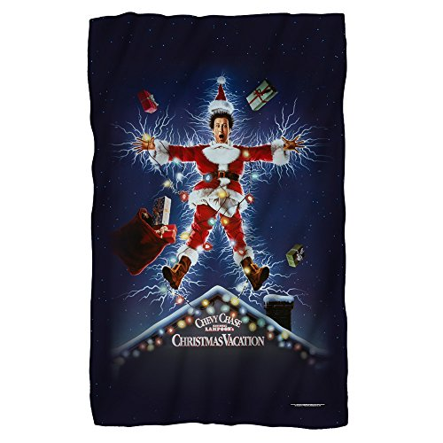 Movie Logo — Christmas Vacation — Fleece Throw Blanket