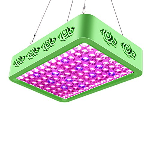 Roleadro LED Grow Light, Reflector-Series 300W Compound Full Spectrum Grow Lamp with Double Chips for Hydroponic Indoor Plants Veg and Flower Growth, Flowering, Fruiting by Roleadro