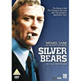 Silver Bears [1977] / Region 2 PAL European Edition DVD / Language: English / Subtitles: English / Actors: Michael Caine, Louis Jourdan, Cybill Shepherd, Stephane Audran, David Warner / Directors: Ivan Passer / Number of discs: 1 / Run Time: 108 minutes