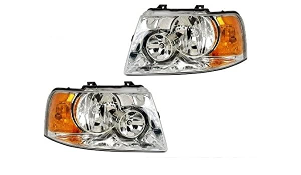 RVLightings Thor Motor Coach Hurricane 2010-2013 RV Motorhome Pair Left /& Right Black Headlights NEW