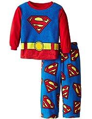 DC Comics Superman Fleece Pajamas for Little Boys