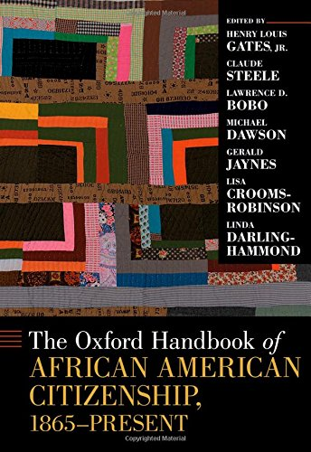 Search : The Oxford Handbook of African American Citizenship, 1865-Present (Oxford Handbooks)