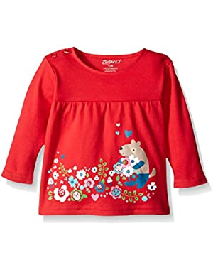 Baby Girls' Peasant Top