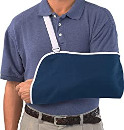 Mueller Arm Sling, Blue, One Size