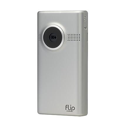Flip mino hd video camera - silver, 1 hour, 4gb (3rd generation)