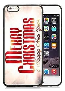2014 Latest iPhone 6 Plus Case,Merry Christmas Black iPhone 6 Plus 5.5 TPU Case 81 hjbrhga1544