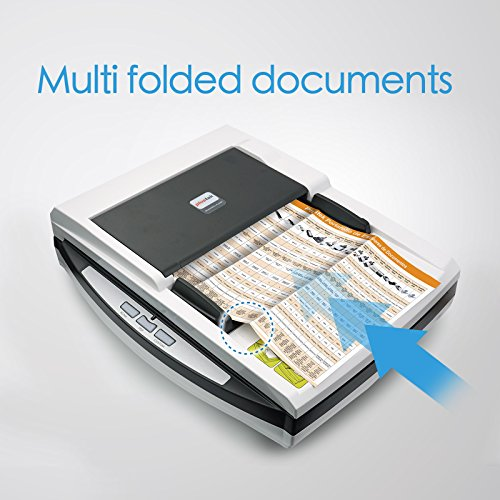 Plustek Speed + ADF in one. with Document and Size scan Special Design Folded