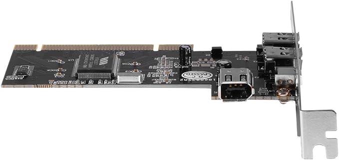 XCSOURCE/® 4 puertos PCI Firewire adaptador de la tarjeta 1394 1394-3 externa 1 Interna AC534