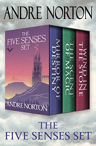 The Five Senses Set: Mirror of Destiny, The Scent of Magic, and Wind in the Stone cover
