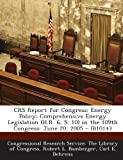 Crs Report for Congress, Robert L. Bamberger, 1294247158