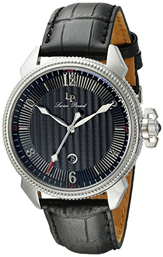 Lp Lucien Piccard (Lucien Piccard Men's LP-40053-01 Trevi Stainless Steel Watch with Leather Band)
