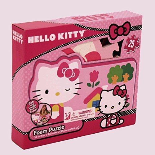 - Hello Kitty Foam Puzzle Mat 25 Piece
