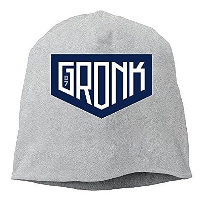 YUVIA Rob Gronkowski New England Team Men's&Women's Patch Beanie MountaineeringAsh Hat For Autumn And Winter
