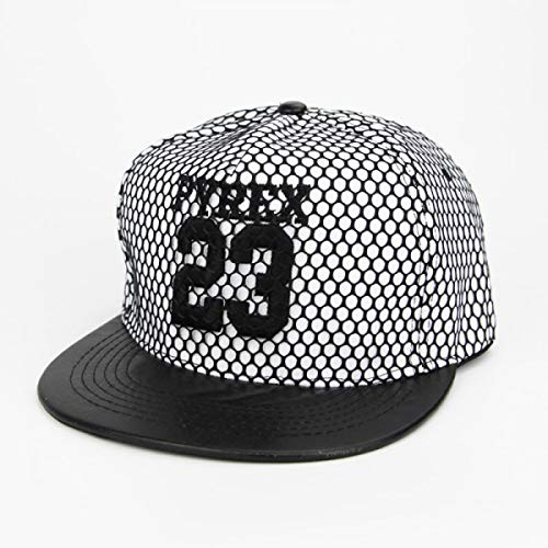 2018 New Men Womens 23 Jordan Letters Solid Color Patch Baseball Cap Hip Hop Caps Leather Sun Hat Snapback Hats Gift Embroidery White at Amazon Mens ...